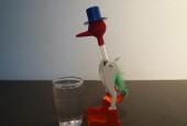 Trinkende Ente